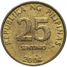 25 сентимо Филиппины 2003-2017