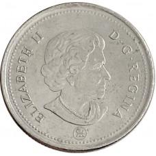25 центов Канада 2003-2021