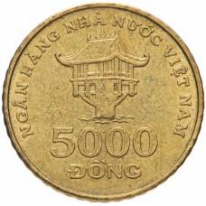 5000 донгов Вьетнам 2003