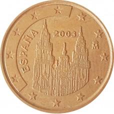 5 евроцентов  Испания 2003