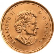 1 цент Канада 2003-2012