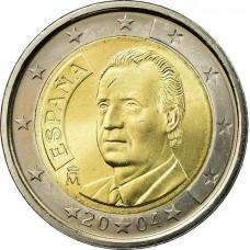 1 евро Испания 2004
