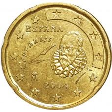 10 евроцентов Испания 2004