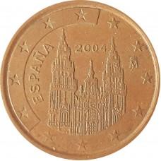 5 евроцентов  Испания 2004