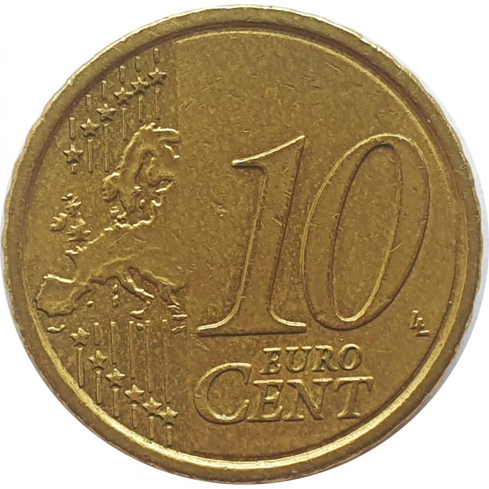 10 евроцентов Бельгия 2011