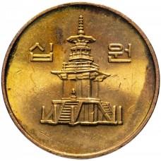 10 вон 1983-2006 Южная Корея
