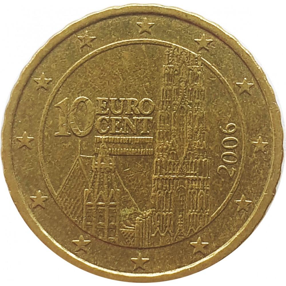 10 евроцентов Австрия 2006
