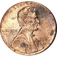 1 цент США 2006