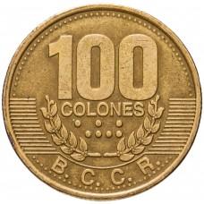 Коста-Рика 100 колонов  2006-2017