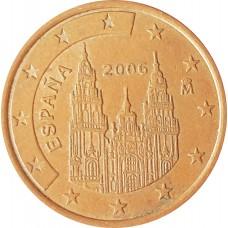 5 евроцентов  Испания 2006