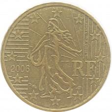 10 евроцентов Франция 2006