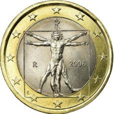 1 евро Италия 2006