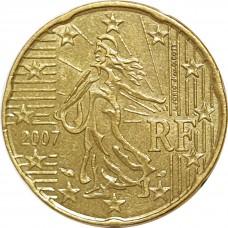 10 евроцентов Франция 2007
