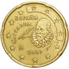 10 евроцентов Испания 2007