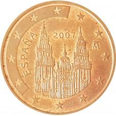 5 евроцентов  Испания 2007