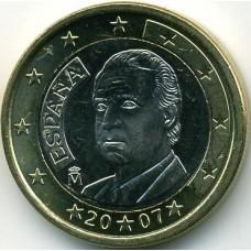 1 евро Испания 2007
