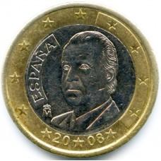 1 евро Испания 2008