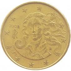 10 евроцентов Италия 2008