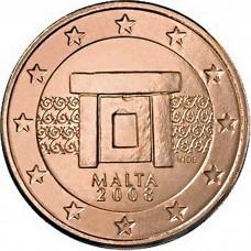 5 евро центов Мальта UNC