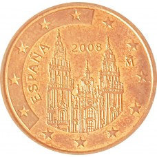 5 евроцентов  Испания 2008