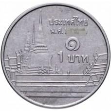 1 бат Таиланд 2009-2017