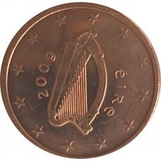 1 евроцент Ирландия 2009 UNC
