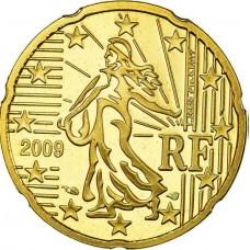 20 евроцентов Франция 2009