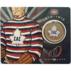 50 центов 2009 Канада - 100 лет Монреаль Канадиенс (1912-1913)