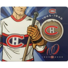 50 центов 2009 Канада - 100 лет Монреаль Канадиенс (1945-1946)