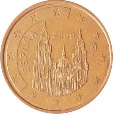 5 евроцентов  Испания 2009