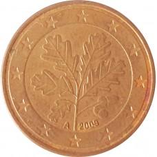 5 евроцентов  Германия 2009