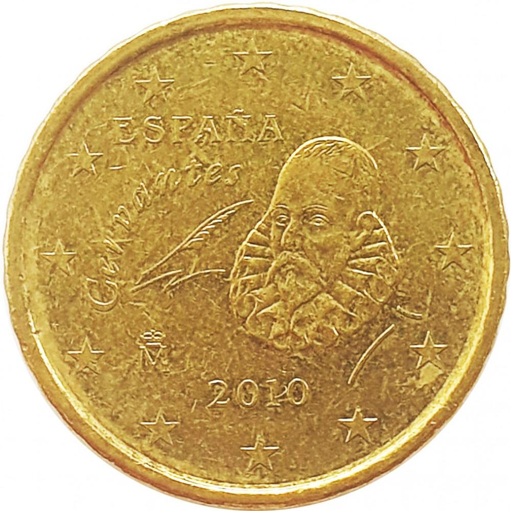 10 евроцентов Испания 2010