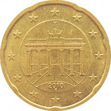 20 евроцентов Германия 2010