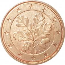 2 евроцента Германия 2010