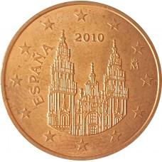 5 евроцентов  Испания 2010
