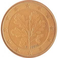 5 евроцентов  Германия 2010