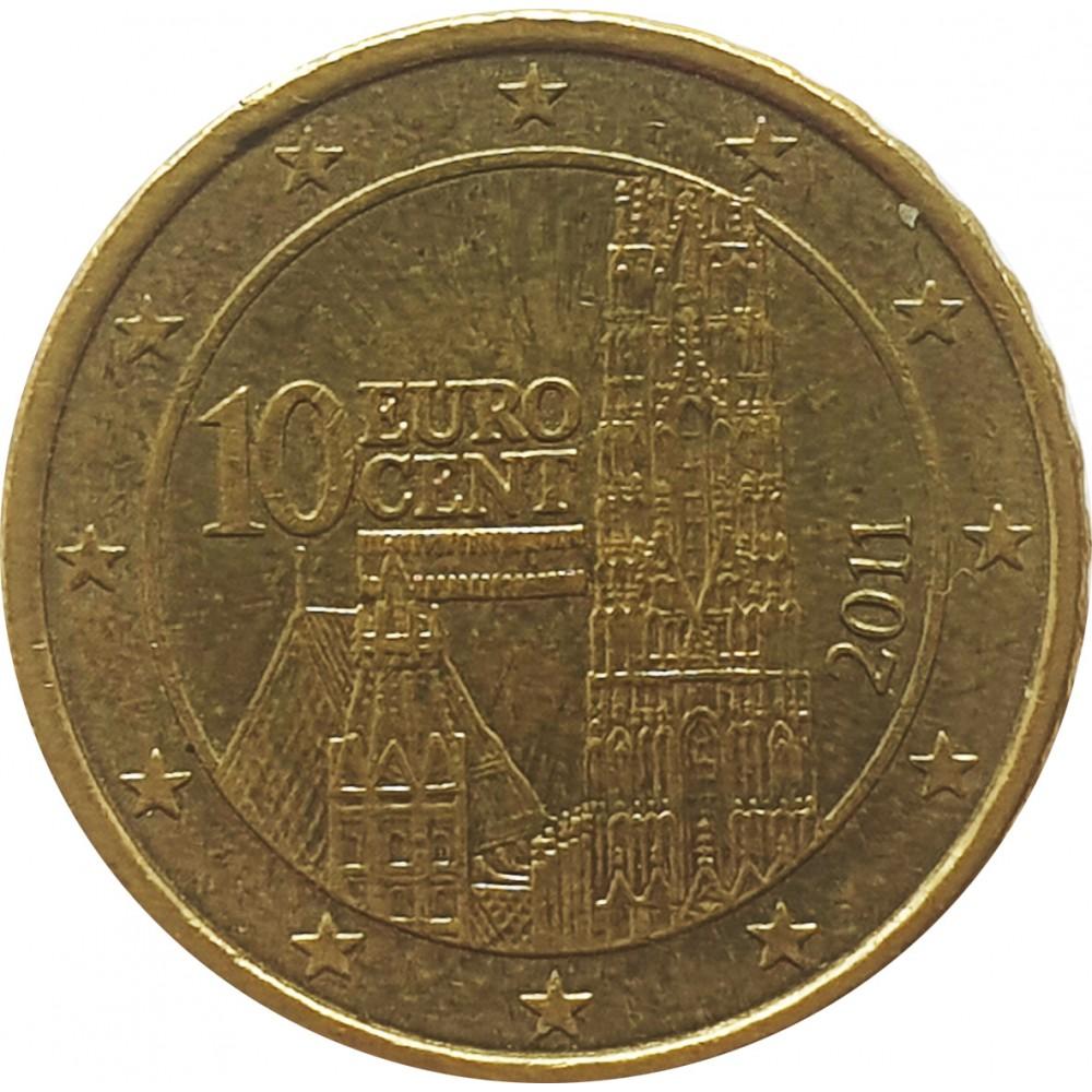 10 евроцентов Австрия 2011