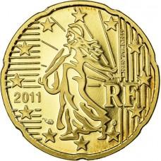 20 евроцентов Франция 2011