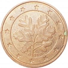 2 евроцента Германия 2011