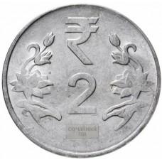 2 рупии Индия 2011-2019