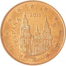 5 евроцентов  Испания 2011