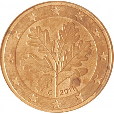 5 евроцентов  Германия 2011