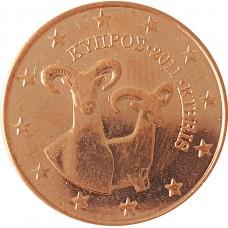5 евроцентов Кипр 2011 (UNC)