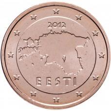 2 евро цента Эстония 2012 UNC