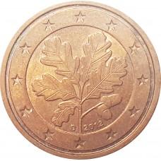 2 евроцента Германия 2012