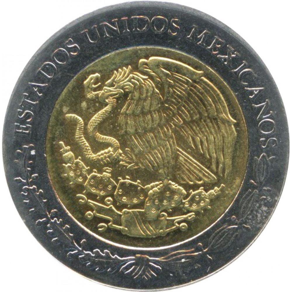 5 песо Мексика 2012