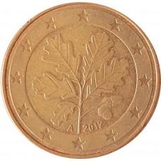 5 евроцентов  Германия 2012