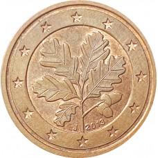 2 евроцента Германия 2013