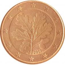 5 евроцентов  Германия 2013