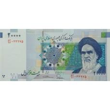 Иран 20000 риалов 2014-2018 UNC пресс